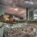 HDR Canary Wharf by scott  - 