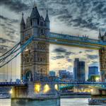 Tower Bridge Sunset by scott  - 